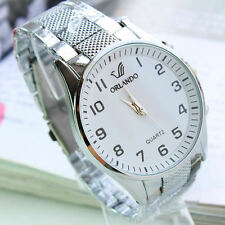 Mens Watches Quartz Stainless Steel Analog Sports New Wrist Watch MENS