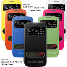 FLIP HARD CASE S-VIEW SVIEW COVER FOR SAMSUNG GALAXY S4 ACTIVE i9295