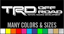 Set of 2 Toyota Tacoma Tundra TRD Off Road Decals Stickers - Choose Color
