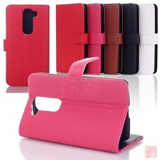 Magnetic Wallet PU Leather Card Slots Pouch Stand Case For LG G2 Mini D620 D620R