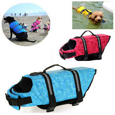 Aquatic Pet Preserver Water Safety Vests for Dogs Safety Life Jacket Swim Vest