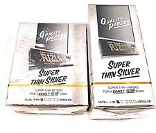 Rizla Silver Standard Regular Size Rolling Papers( New) - Variations By Etrendz