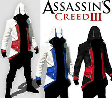 Pour Assassin's Creed III Conner Kenway Manteau Veste Capuche Cosplay Costume Q