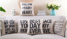 Today is gift Peace joy love following your heart word Cushion Cover pillow Case