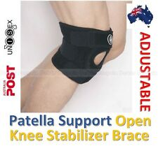 Patella Support Open Knee Stabilizer Brace Strap Sports Injury Arthritis Tendon