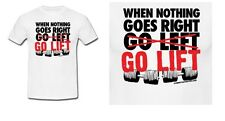 High quality Gym motivation funny qouted casual t-shirt for men and women