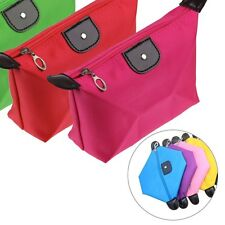 Waterproof Cosmetic Makeup Bag Pencil Pen Case Storage Pouch Purse Handbag