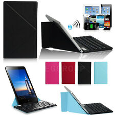 "Universal Wireless Bluetooth Keyboard With Case For 9~11"" Android Windows Tablet"