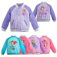 Many Kinds Toddler's Kid Girl Fall Popular Cotton Zipper Outerwear Coat For 1-7Y