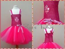 Handmade Peppa Pig inspired Tutu Dress Costume. For Party, dress up.