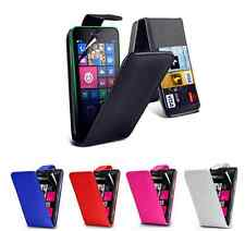 New Flip Wallet Leather Case Cover For Nokia Lumia 630 + Free Screen Protector