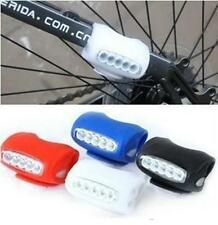 TI US Cycling Bicycle 7 LED Black Silicone Frog Lamp Warning Rear / Front Lights