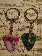 Custom His Angel & Her Cowboy Key Chain Set, by Music Addict, Made in USA!