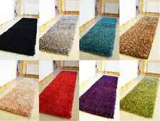 X LONG LARGE NON SHED HEAVY SHINY SPAGHETTI SPARKLE SHAGGY HALL RUNNER RUG MAT