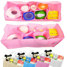 New Baby Portable Diaper Nappy Water Bottle Changing Divider Storage Organizer