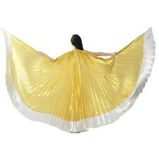Egyptian Egypt Belly Dance Costume Isis Wings LOW PRICE (no stick) 12 colors