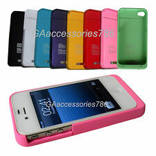 iPhone 4G/4S 1900mAh Power Case Portable External Battery Power Pack Charger