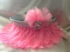 Ostrich Feather wedding cake stand & riser  - all sizes many feather colours