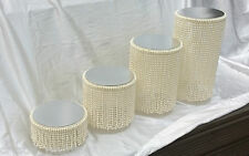 Pearl  cascade tiered cake stands  for wedding cakes There are 6 tiers to choose