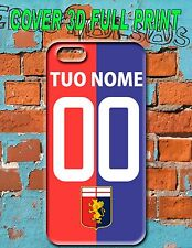 COVER 3D GENOA PERSONALIZZABILE NOME E NUMERO for IPHONE GALAXY NOTE