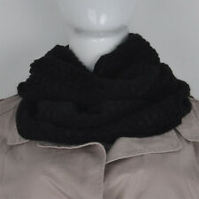 Women Winter Warm Infinity 2 Circle Cable Knit Cowl Neck Long Scarf Shawl 11 Col