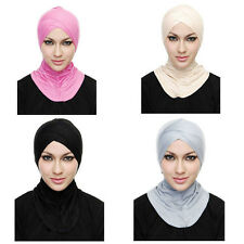 Muslim Cotton Full Cover Inner Hijab Caps Islamic Underscarf Islamic Hats colors