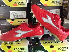 New Diadora Maracana L Red Soccer Cleats Mens Sizes