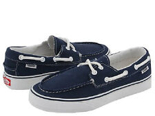 Vans Zapato Del Barco Unisex VN-0XC3NWD Navy White 100% Authentic Brand New