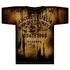 CLASSIC OUIJA Spirit Board All Over Print Shirt Size Medium  - AWESOME LOOKING!