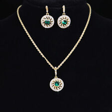 Korea Women Fashion Necklace Bridesmaid Gold/Sliver Style High Quality Earring