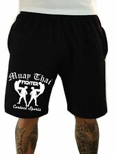 Muay Thai Fighter Shorts Kurze Hose Trainingshose Jogger Fight Wear MMA Boxen