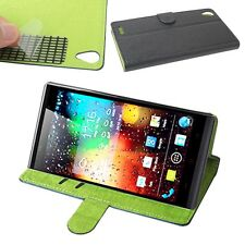 """New PU Leather Flip Case Cover For 5.5"""" KingZone K1 Turbo Android 4.3 Smartphone"""
