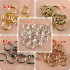 200pcs Metal Jump Rings Open Connectors Jewelry Make Findings 4,5,6,7,8,9,10MM