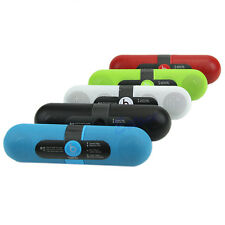 Portable Pill Wireless Bluetooth Radio Stereo Speaker With NFC For iPhone MP3