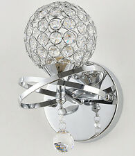 New Modern Bedroom Chrome Crystal Chandelier Sconces Fixture Wall Lights --LP01