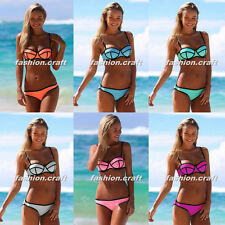 Women Bandage Triangle Bikini Push-up Swimsuit Bathing Suit Swimwear
