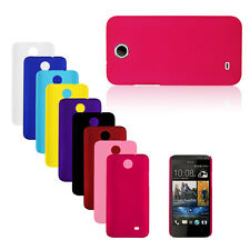 Solid Color Hard Plastic Fitted Matte Back Case Cover Skin for HTC Desire 300