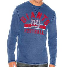 """New York Giants G-III NFL """"Free Safety"""" Long Sleeve Thermal Shirt"""