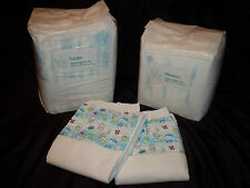 2 Diapers - Bambino Bellissimo - Medium or Large - plastic - adult baby - AB/DL