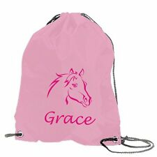 PERSONALISED KIDS SWIMMING BAG PONY / HORSE MOTIF * PERSONALISED JUST FOR YOU *