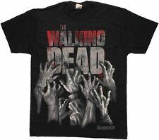 The Walking Dead Hand Reaching Zombie T Shirt New Official Merch we post today