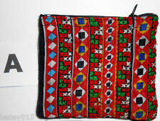Coin Purse Phone Cosmetics Cards Handmade Bag Zip Top Lined Fair Trade Nepal