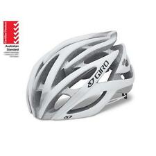 GIRO ATMOS Road Helmet Bicycle AUSSIE STANDARDS APPROVED with Sticker WHT/SILV