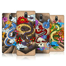 HEAD CASE TATTOO INSPIRED CHINESE DRAGONS SNAP-ON BACK COVER FOR NOKIA 515