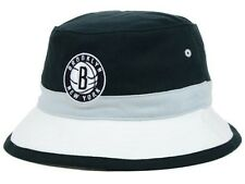 Mitchell And Ness Brooklyn Nets Color Block Bucket Hat *New*