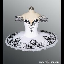 Professional Classical White Ballet Tutu Grand Pas Classique Dance Costume