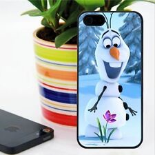 Olaf Flower the Disney Frozen Bumper case cover for iphone 4 4S /  5 5S / 5C