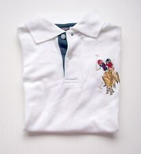 US Polo Assn Boys White Pull Over T Shirts Horse  NEW  8  14/16