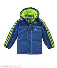Adidas Infants blue padded coat. Infants coat. Infant jacket. Various sizes!