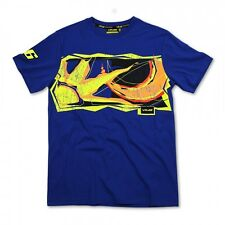 Valentino Rossi Official 2014 Sun and Moon Blue T-shirt, M, L, XL, XXL